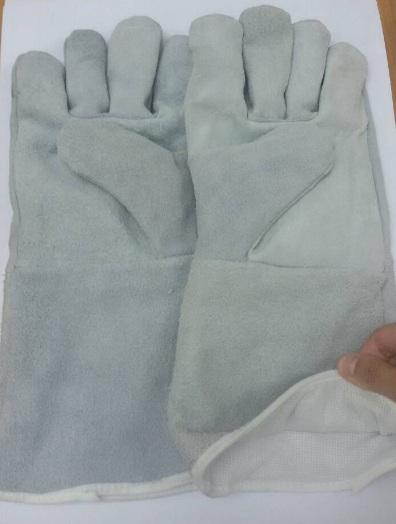 ถุงมือหนังมีซับ 504