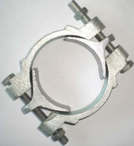 HOSE CLAMP TYPE DOUBLE BOLT