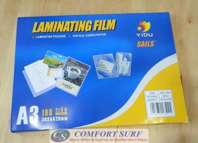 LAMINATE FILM A3 - พลาสติกเคลือบบัตร